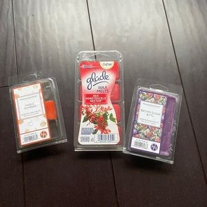 🌷 Glade & Huntington home wax melts 16ct total